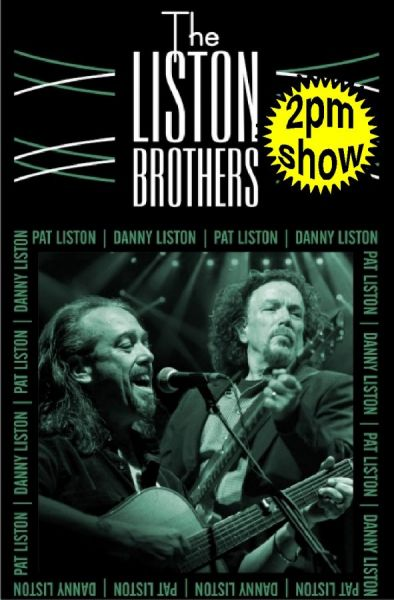 Liston Brothers Live (2pm matinee)