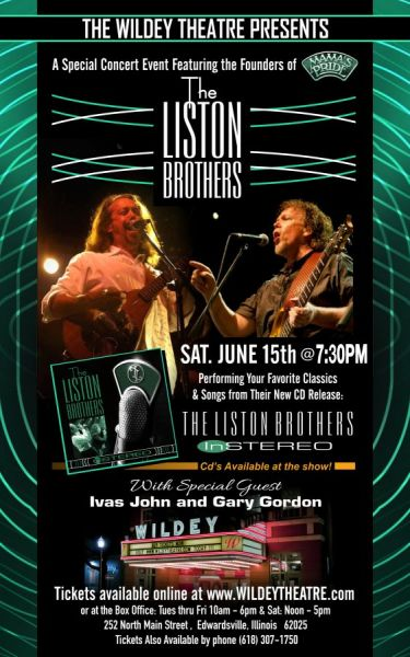 The Liston Brothers  Live