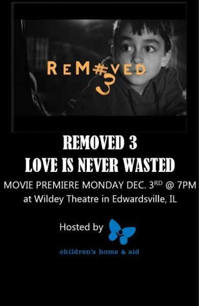 Removed 3 – Love is Never Waste premier, writer & director meet & fundraiser