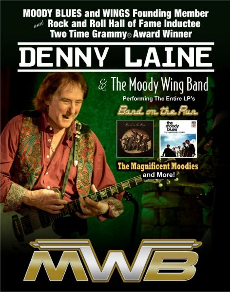 Denny Laine and the Moody Wing Band