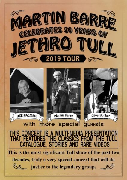 Martin Barre's 50 Years of Jethro Tull celebration
