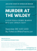 MURDER AT THE WILDEY - A Star Wars Themed  Mystery Dinner Event